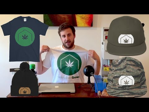 Launch of GreenBox Grown Cannabis Clothing Line | Hats, T-Shirts, Sweatshirts & More