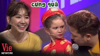 Hari Won và Trường Giang cưng xỉu biểu cảm xinh như thiên thần của cô bé Philipines l AI LÀ SỐ 1