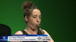 Leire Unzue Villanueva plays Chant du Ménestrel opus 71 by Alexander GLAZUNOV