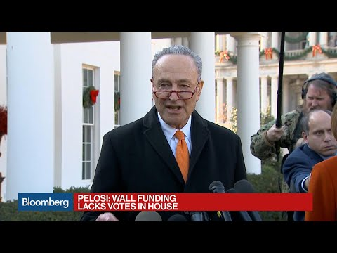 Schumer, Pelosi on Trump's Shutdown Threat Over Border Wall Funds