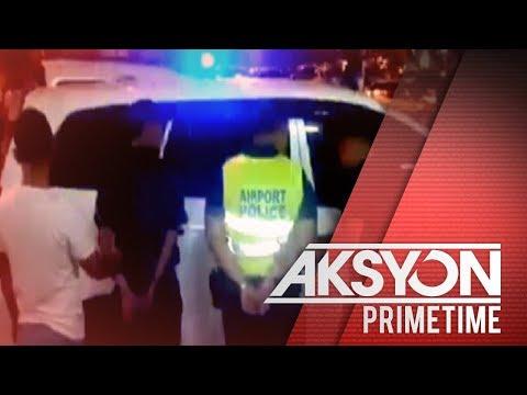 [News5]  2 airport police, inaresto