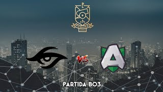 Team Secret vs Alliance - WePlay! Pushka League