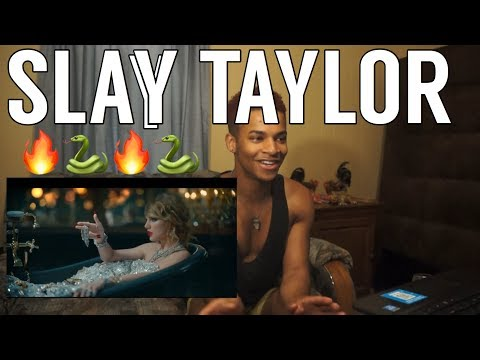 TAYLOR SWIFT LOOK WHAT YOU MADE ME DO| REACTION