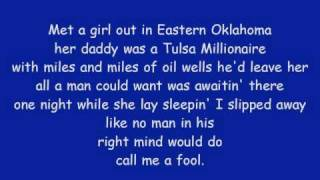 Mark Chesnutt - Blame It On Texas with lyrics