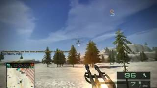 Battlefield 2 : Bad Company 2 - BMD-3 Bakhcha AA Test.