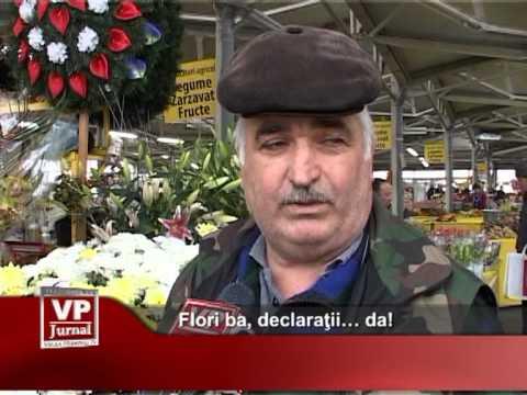 Flori ba, declaraţii… da!