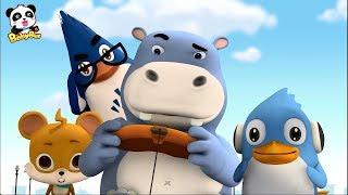 Tiện bán đồ chơi của gấu trúc Kiki | Kiki và những người bạn | Hoạt hình thiếu nhi | BabyBus