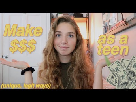How to Make HUNDREDS as a Teen 2019 [How I Make Money as a Teenager]