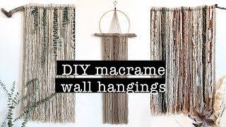 DIY Macrame Wall Hangings (beautiful & Easy) | XO, MaCenna