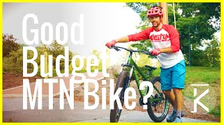 What is a good Inexpensive Mountain Bike for beginners?! | Will It Send
