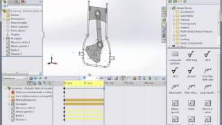 Schizzi di layout per meccanismi
