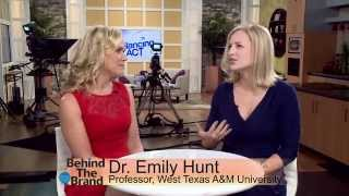 Behind the Brand with West Texas A&M University's Dr. Emily Hunt
