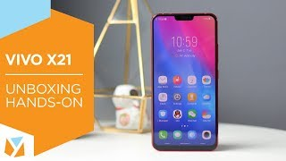 Vivo X21 Unboxing & Hands-on