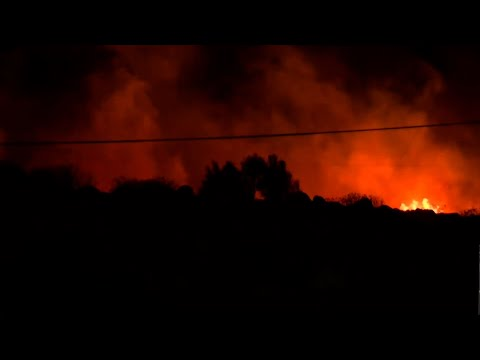 Authorities say evacuations near a small, wind-fueled brush fire in Southern California have been called off. The Desert Sun of Palm Springs quotes local officials as saying residents of 20 homes were told to evacuate, then allowed to return. (April 10)