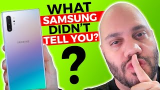 Samsung Galaxy Note 10 Problems? What Samsung DIDN'T Tell You!