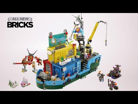 Vidéo LEGO Monkie Kid 80013 : Le QG secret de l'équipe de Monkie Kid