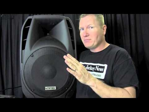 American Audio ELS15A Review By John Young Of The Disc Jockey News Mp3