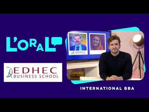 L'oral en anglais : Bachelor of Business Administration (International BBA) Edhec