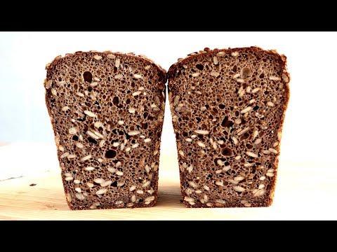Receta de pan de centeno 100% - Pan de los pioneros