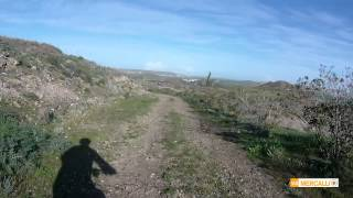 preview picture of video 'Riding down from the Viewpoint on Kellia-Troulloi road'