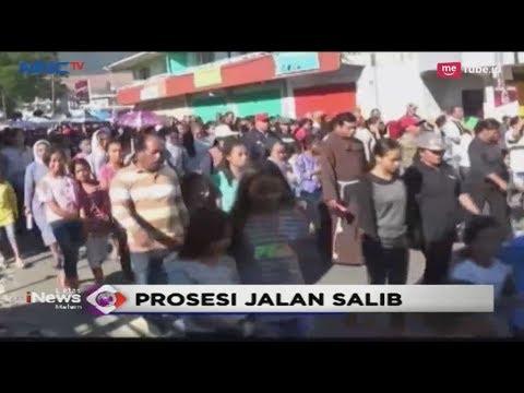 Ribuan Jemaah Ikuti Prosesi Jalan Salib di Manggarai, NTT - LIM 19/04