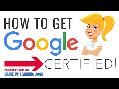 How to Get Google Certified - Google Certified Educator Level 1 ...