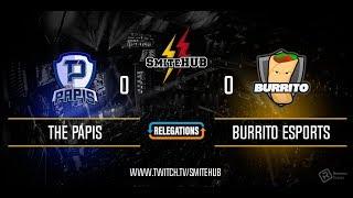 SPL Fall Split Relegations  The Papis Vs BurritoGG  En ESPAÑOL  Relegations 3