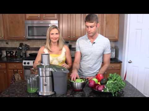 Video Liver Cleansing Green Juice