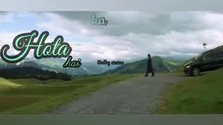 ye safar pyar ka (whatsapp status with lyrics) - YouTube
