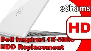 Dell Inspiron 15 5100 Hard Drive Replacement