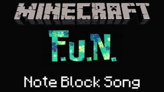 Minecraft Note Block Song: SpongeBob SquarePants: F.U.N. Song
