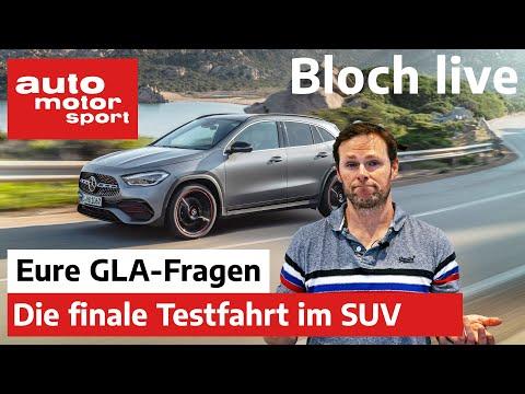 Bloch Live  | Erste Live-Mitfahrt mit dem Mercedes GLA  | auto motor & sport