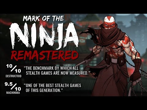 Mark of the Ninja: Remastered Launch Trailer (Nintendo Switch, PS4, Xbox One, Steam) thumbnail