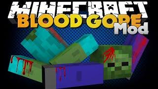 Minecraft - BLOOD AND GORE MOD - NEW AESTHETICS