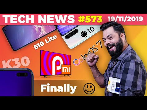 Redmi K30 Launch Official, ColorOS 7 Features,Mi TV 4A On Pie,Note 8 Pro Android 10,S10 Lite-TTN#573