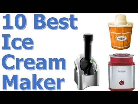 Best Ice Cream Maker Machine Reviews || Best Ice Cream Maker 2017