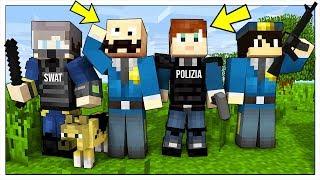 LA NOSTRA VITA DA POLIZIOTTI! - Minecraft ITA