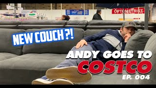 COUCH SHOPPING AT COSTCO