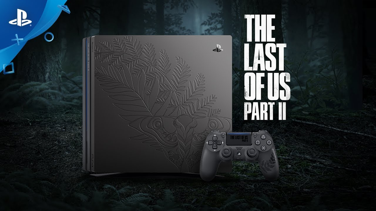 Celebrating The Last of Us Part II With a Limited Edition PS4 Pro Bundle and More