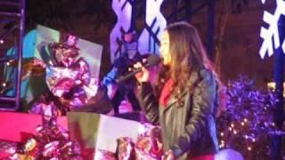 Charice - Jingle Bell Rock - The Grove of LA Christmas Tree Lighting (11-21-10)