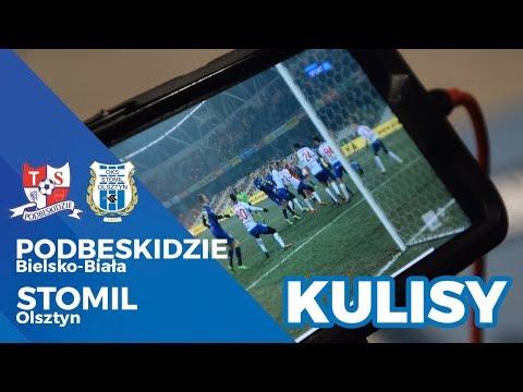 Kulisy meczu Podbeskidzie Bielsko-Biała - Stomil Olsztyn