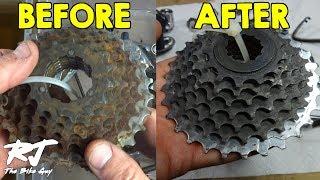 Remove Rust From Bike Parts Using Evapo-Rust - Easy!