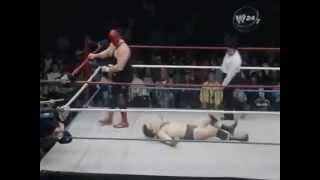 The Masked Superstar vs Steve Lombardi