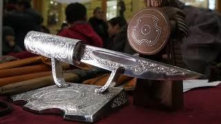 Якутский нож, оригинал, мастер кузнец саха