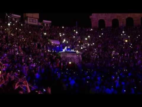"Cesare Cremonini, ""Vorrei"" all'Arena di Verona"