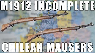 M1912 Chilean Mauser 5 Round Bolt Action 7mm Mauser by Waffenfabrik Steyr - Made In Austria - Surplus Fair Condition, Missing Parts, Incomplete