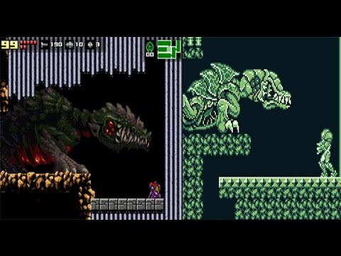 AM2R - Final Boss (Queen Metroid)