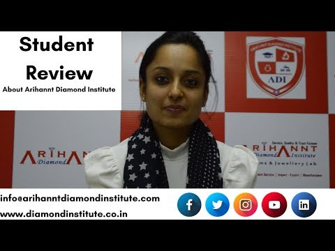 Student Review By our Student of Arihannt Diamond Institute