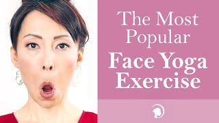 Start Your Face Yoga Practice With This Exercise