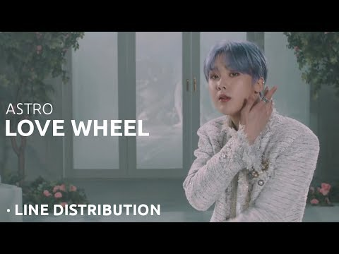ASTRO - LOVE WHEEL Line Distribution \ 아스트로